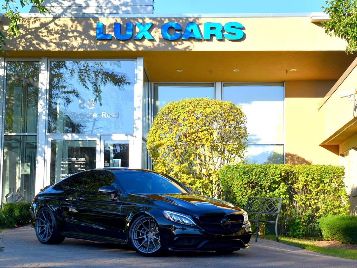 2017_Mercedes-Benz_C63 S AMG_Coupe Performance Nav Night PURE900 705WHP MSRP $90,145_ Buffalo Grove IL