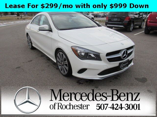 2017 Mercedes-Benz CLA 250 4MATIC® COUPE Rochester MN