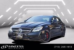 2017_Mercedes-Benz_CLS_AMG CLS 63 S Exterior Night Styling, Keyless Go, Blind Spot Assist, Distronic Plus, Lane Keep Assist, Surround View Camera, Multi Contour Seats, Ventilated Seats - Front_ Houston TX