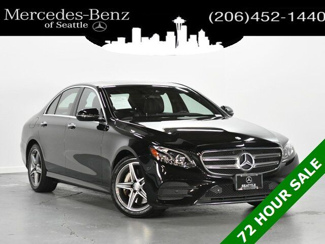 2017 Mercedes-Benz E-Class E 300 4MATIC® Sedan Seattle WA
