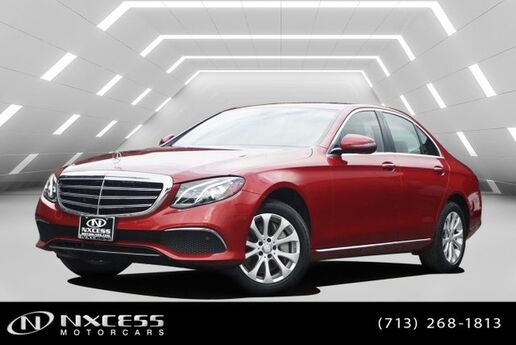 2017 Mercedes-Benz E-Class E 300 Navigation Blind Spot Rear View Camera Warranty. Houston TX