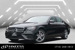 Mercedes-Benz E-Class E 300 Sport Blind Spot Navigation Multi Contour Seats. 2017