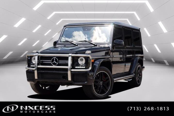 2017 Mercedes-Benz G-Class AMG G 63 Designo Package and Carbon Fiber Trim One Owner Well Kept. Houston TX