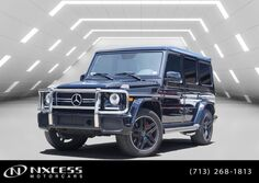Mercedes-Benz G-Class AMG G 63 One Owner Factory Warranty. 2017
