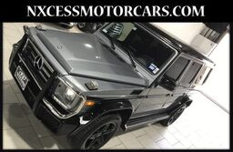 Mercedes-Benz G-Class G 550 RARE TWO TONE 1 OWNER ONLY 16K MILES 2017