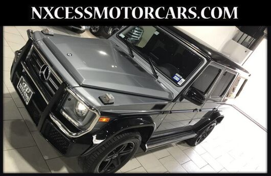 2017 Mercedes-Benz G-Class G 550 RARE TWO TONE 1 OWNER ONLY 16K MILES Houston TX