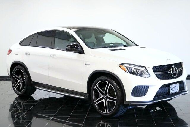 2017 Mercedes Benz GLE AMG GLE 43 4MATIC Coupe, Factory Warranty, 1 Owner  ...