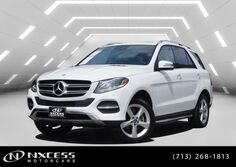 Mercedes-Benz GLE GLE 350 Navigation Roof Running Broad Warranty. 2017