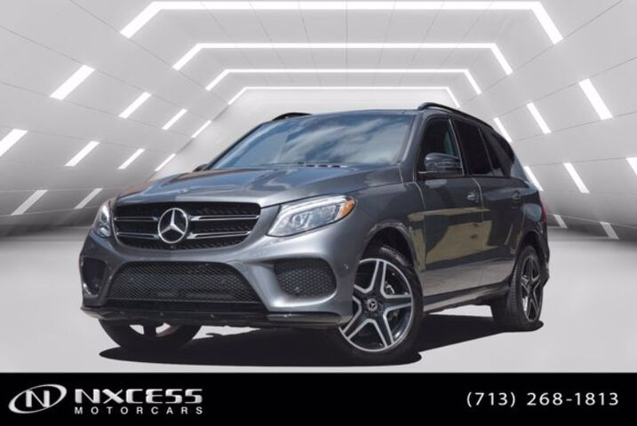 2017 Mercedes-Benz GLE GLE 350 Sport,Night Package,Blind Spot, Navi,Panorama. Houston TX