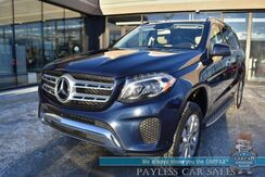 2017_Mercedes-Benz_GLS 450_/ AWD / Air Suspension / Heated Leather Seats / Heated Steering Wheel / Navigation / Harman Kardon Speakers / Sunroof / Surround View Camera / Blind Spot / 3rd Row / Seats 7 / Tow Pkg / 1-Owner_ Anchorage AK