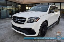 2017_Mercedes-Benz_GLS 63_AMG 4Matic AWD / AMG Night Pkg / Driver Assist Pkg / Heated & Cooled Leather Seats / Navigation / Harman Kardon Speakers / Sunroof / 3rd Row / Seats 7 / 360 View Camera / Keyless GO Pkg / Tow Pkg / 1-Owner_ Anchorage AK