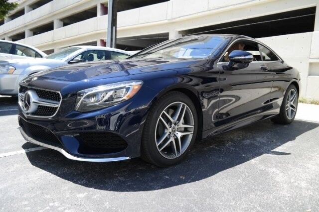 2017 mercedes benz s 550 4matic coupe coral gables fl for Mercedes benz coral gables fl