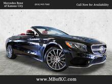 2017_Mercedes-Benz_S_550 Cabriolet_ Kansas City KS
