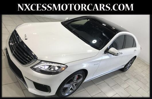 2017 Mercedes-Benz S-Class AMG S 63 BI TURBO V8 LOW MILES Houston TX