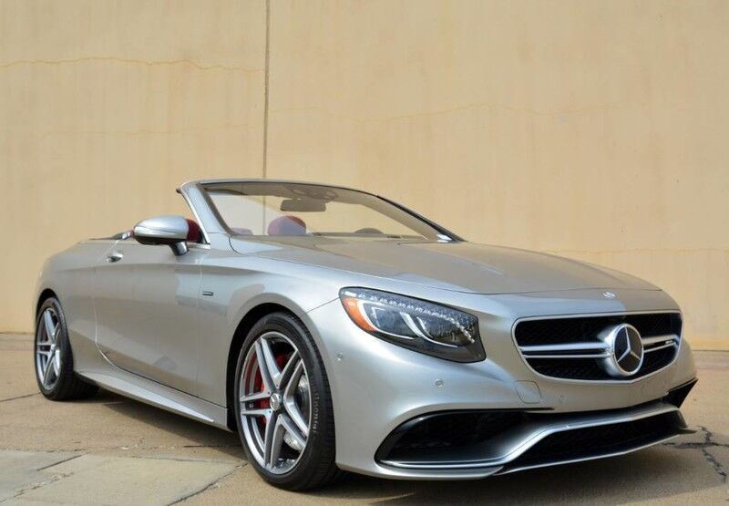 2017 Mercedes-Benz S-Class AMG S 63 Edition 130 Cabriolet Fort Worth TX