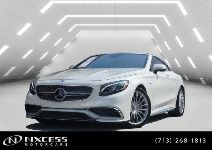 2017 Mercedes-Benz S-Class AMG S 65 SPORT Cabriolet Only 3K MSRP $250K. Houston TX