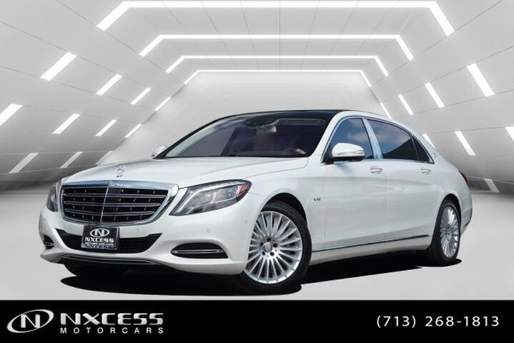 2017 Mercedes-Benz S-Class Maybach S 600 Low Miles MSRP $200K Factory Warranty! Houston TX