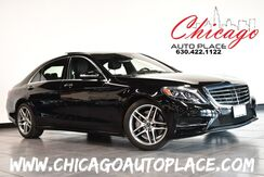 2017_Mercedes-Benz_S-Class_S 550 - 4.7L BITURBO V8 ENGINE ALL WHEEL DRIVE 1 OWNER NAVIGATION TOP VIEW CAMERAS BLACK LEATHER HEATED/COOLED SEATS PANO ROOF KEYLESS GO_ Bensenville IL