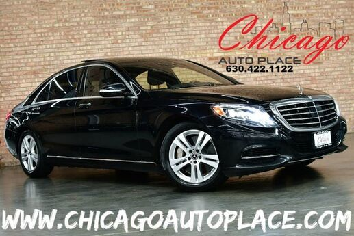 2017 Mercedes-Benz S-Class S 550 4MATIC - ORIGINAL MSRP: $114,275 PREMIUM PACKAGE REAR SEAT PACKAGE WARMTH & COMFORT + SURROUND VIEW DRIVERS ASSISTANCE PACKAGE PANO ROOF Bensenville IL
