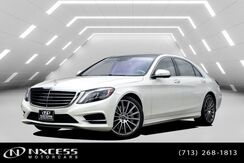 2017_Mercedes-Benz_S-Class_S 550 AMG Wheels, Sport Package, Keyless Go, Parktronic, Blind Spot Assist, Distronic Plus, Lane Keep Assist, Camera, Heated Seats - Front, Heated Seats - Rear, Multi Contour Seat Front, Ventilated Seats - Rear, Panorama MSRP $122,420!_ Houston TX