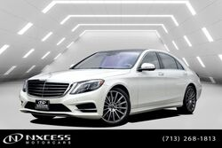 Mercedes-Benz S-Class S 550 AMG Wheels, Sport Package, Keyless Go, Parktronic, Blind Spot Assist, Distronic Plus, Lane Keep Assist, Camera, Heated Seats - Front, Heated Seats - Rear, Multi Contour Seat Front, Ventilated Seats - Rear, Panorama MSRP $122,420! 2017