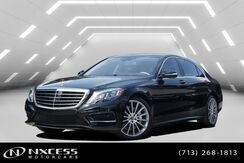 2017_Mercedes-Benz_S-Class_S 550 AMG Wheels, Sport Package, Keyless Go, Parktronic, Blind Spot Assist, Distronic Plus, Lane Keep Assist,_ Houston TX