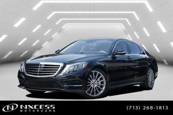 Mercedes-Benz S-Class S 550 AMG Wheels, Sport Package, Keyless Go, Parktronic, Blind Spot Assist, Distronic Plus, Lane Keep Assist, 2017