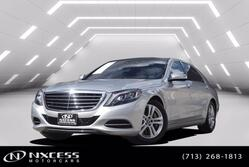 Mercedes-Benz S-Class S 550 Keyless Go, Parktronic, Multi Contour Seats, Ventilated Seats - Front, Variable Heated Seats, Panorama 2017