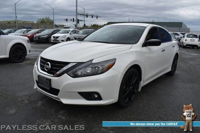 2017 Nissan Altima 2.5 SR / Automatic / Power Driver's Seat / Keyless Start / Power Locks & Windows / Bluetooth / Back Up Camera / Cruise Control / Aluminum Wheels / 37 MPG / Only 12k Miles / 1-Owner Anchorage AK