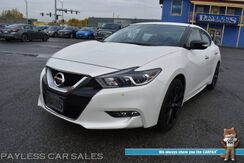 2017_Nissan_Maxima_SR Midnight Edition / Auto Start / Heated & Cooled Alcantara Seats / Heated Steering Wheel / Navigation / Bose Speakers / Blind Spot Alert / Bluetooth / Back Up Camera / 30 MPG / 1-Owner_ Anchorage AK