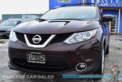 2017_Nissan_Rogue Sport_SV / AWD / Heated Seats & Steering Wheel / Auto Start / Navigation / Bluetooth / Back-Up Camera / Luggage Rack / Block Heater / 30 MPG / 1-Owner_ Anchorage AK