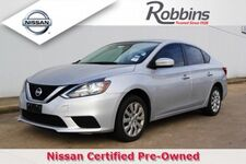 2017_Nissan_Sentra_S_ Houston TX