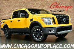 2017_Nissan_Titan_PRO-4X - 5.6L V8 ENGINE 4 WHEEL DRIVE BLACK LEATHER HEATED/COOLED FRONT SEATS HEATED REAR SEATS NAVIGATION BACKUP CAMERA PARKING SENSORS BLINDSPOT DETECTION XENONS_ Bensenville IL