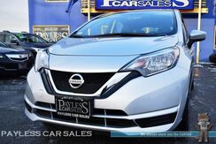 2017_Nissan_Versa Note_SV / Hatchback / Automatic / Bluetooth / Back Up Camera / Cruise Control / Air Conditioning / USB & Aux Jacks / 39 MPG / 1-Owner_ Anchorage AK