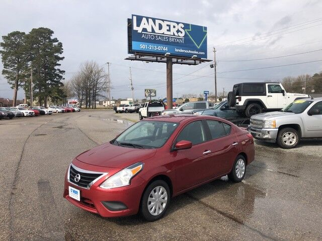 2017 Nissan Versa Sedan S Plus Bryant AR