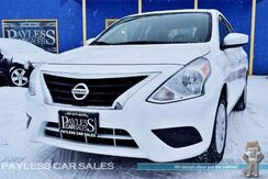 2017_Nissan_Versa Sedan_SV / Automatic / Cruise Control / Air Conditioning / USB & Aux Jacks / 39 MPG / 1-Owner_ Anchorage AK