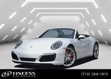 2017_Porsche_911_Carrera 4S Cab MSRP $146,495 Factory Warranty._ Houston TX