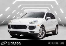 2017_Porsche_Cayenne_Platinum Edition AWD Sport Pkg Factory Warranty._ Houston TX