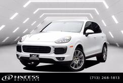 2017_Porsche_Cayenne_Platinum Edition Blind Spot Navigation Factory Warranty._ Houston TX