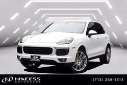 Porsche Cayenne Platinum Edition Blind Spot Navigation Factory Warranty. 2017