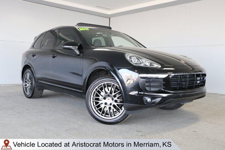 2017 Porsche Cayenne Platinum Edition Kansas City KS