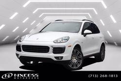 Porsche Cayenne S E-Hybrid Platinum Edition AWD Loaded. 2017