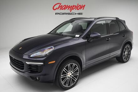 2017_Porsche_DEMO SALE Cayenne_Platinum Edition_ Pompano Beach FL