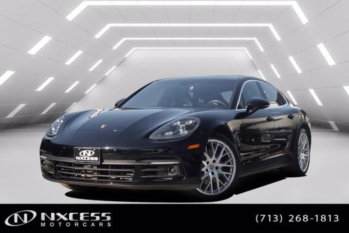 2017 Porsche Panamera 4S Navigation Lane Departure Backup Camera Dual Roof Houston TX
