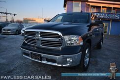 2017_Ram_1500_Big Horn / 4X4 / 5.7L HEMI V8 / Crew Cab / Auto Start / Power Driver's Seat / Seats 6 / Bluetooth / Back Up Camera / Cruise Control / USB & AUX Jacks / Bed Liner / Block Heater / Tow Pkg / 1-Owner_ Anchorage AK