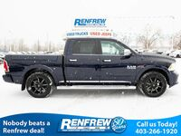 Ram 1500 EcoDiesel Limited, Ram Box, Sunroof, Navigation, Heated Leather, Remote Start, Alpine Stereo, SiriusXM, Bluetooth 2017