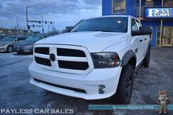 2017_Ram_1500_Express / 4X4 / Crew Cab / 5.7L HEMI V8 / Aftermarket Exhaust / Bluetooth / Back UP Camera / Seats 6 / Tow Pkg / 23 MPG / 1-Owner_ Anchorage AK