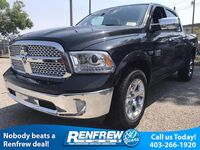 Ram 1500 Laramie 5.7L HEMI V8, Heated & Cooled Leather Seats, Keyless Entry w/ Push Button Start 2017