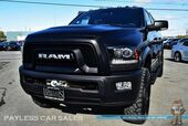2017 Ram 2500 Power Wagon / 4X4 / 6.4L HEMI V8 / Crew Cab / Heated Seats & Steering Wheel / Auto Start / Navigation / Bluetooth / New Tires / Matching LEER Canopy / Bed Liner / Winch / Tow Pkg / 1-Owner