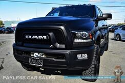 2017_Ram_2500_Power Wagon / 4X4 / 6.4L HEMI V8 / Crew Cab / Heated Seats & Steering Wheel / Auto Start / Navigation / Bluetooth / New Tires / Matching LEER Canopy / Bed Liner / Winch / Tow Pkg / 1-Owner_ Anchorage AK